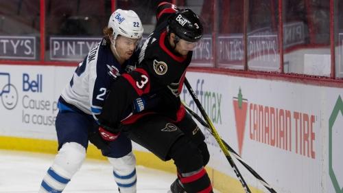 Four different Jets score as Winnipeg beats Ottawa Senators