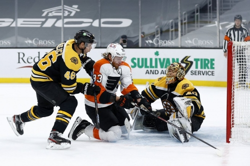 Flyers drop series opener to Bruins 5-4 in shootout