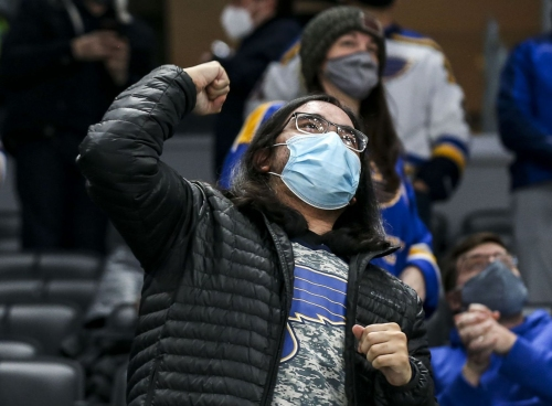 Blues start strong in local television ratings