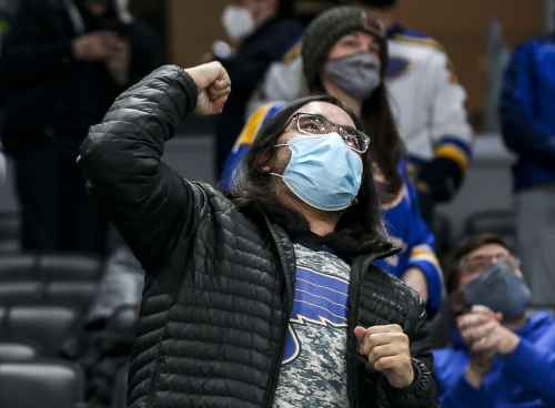 Blues say a few fans are 'better than nothing'
