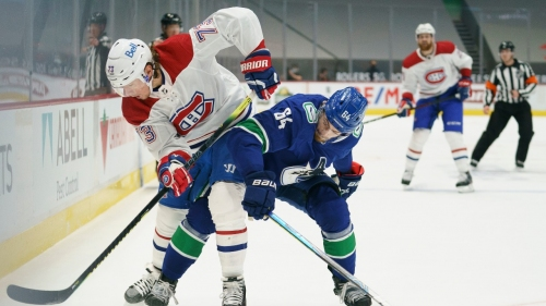 Toffoli continues dominance as Canadiens trounce Canucks