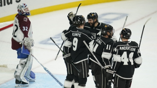 Kempe helps Kings rally past Avalanche for first win of season