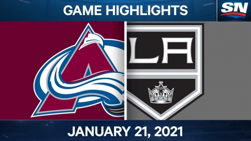 Kempe scores late to lift Kings over Avalanche