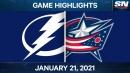 Point scores OT winner as Lightning down Blue Jackets