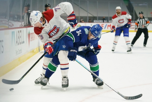 Toffoli continues terrorizing Canucks as Habs strike back with victory