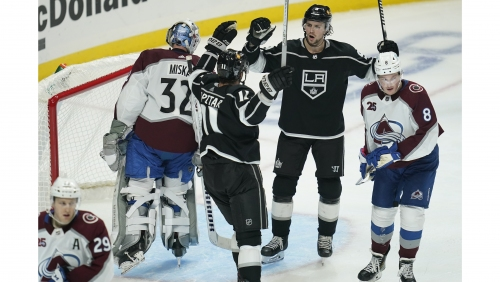 Adrian Kempe helps Kings rally past Avalanche for first win