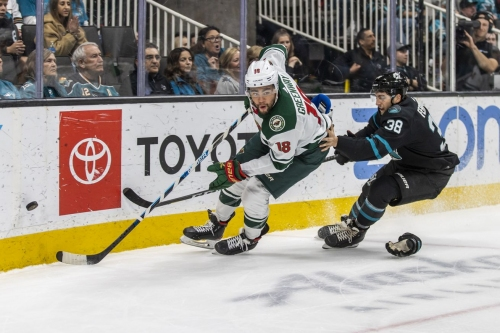 Gameday Thread: Wild vs. Sharks (7:00 PM CT)