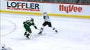 Sharks' Nieto scores off of ridiculous between-the-legs pass from Karlsson