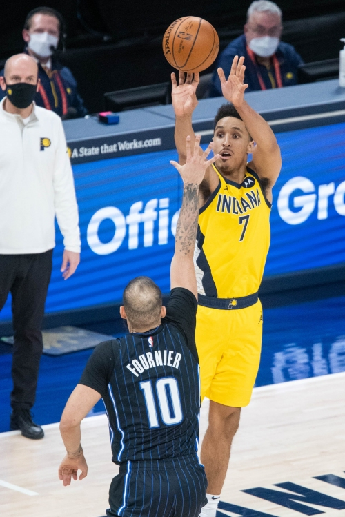 Pacers end 2-game losing streak, knock off Magic on Malcolm Brogdon's winner in OT