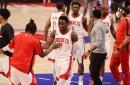 Rockets survive by the skin of their teeth, snap three-game losing streak vs. Pistons