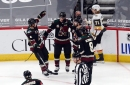 Garland, Kuemper lead Coyotes to win over Golden Knights