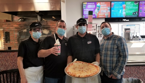 Retail Watch: 'One stop, two great spots': Man opens joint Rita's franchise and pizzeria, named in memory of his late veteran nephew, in Fogelsville