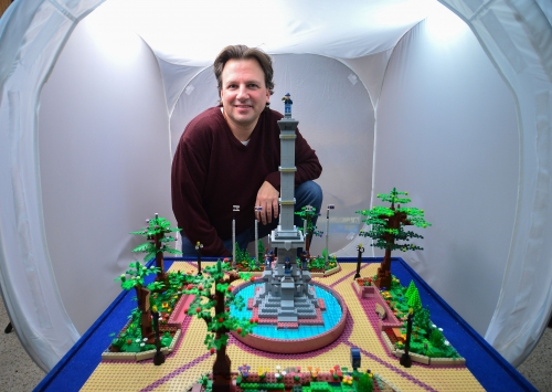 Man's LEGO portrayal of this Lehigh Valley city demands viewers to envision a post-COVID renaissance