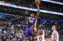 Anthony Davis Marveled At Kobe Bryant Shooting Left-Handed Against Pelicans