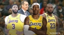 Lakers coach Frank Vogel reacts to Kentavious Caldwell-Pope's rise from zero to hero