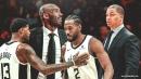 Clippers stars Kawhi Leonard, Paul George's tough questions on Kobe Bryant, per Tyronn Lue
