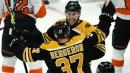 Bergeron, Marchand score two apiece, Bruins beat Flyers