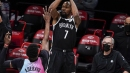 Adebayo goes for 41, but shorthanded Heat come up short 128-124 against Nets' Big Three