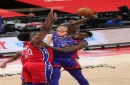 Detroit Pistons embrace youth, play well despite 114-110 loss to East-leading 76ers