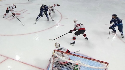 Wheeler picks up 500th career assist during slick Jets passing play