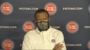 Dwane Casey pleased with how Detroit Pistons' young players performed vs. 76ers
