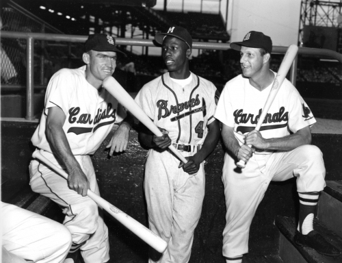 Hochman: Cardinals icon Stan Musial had a special bond with Hank Aaron, the legend just passed away