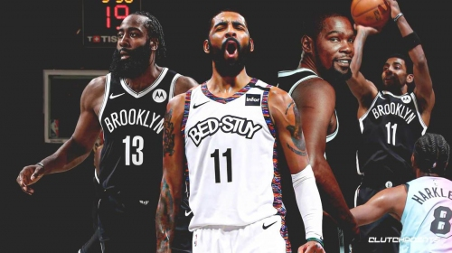 Kyrie Irving's 4-word reaction to his 4th quarter takeover for Nets vs. Heat
