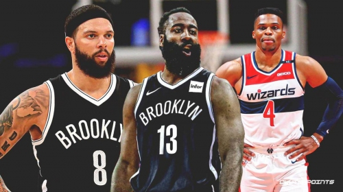 Nets' James Harden matches Russell Westbrook, Deron Williams with impressive 5-game feat