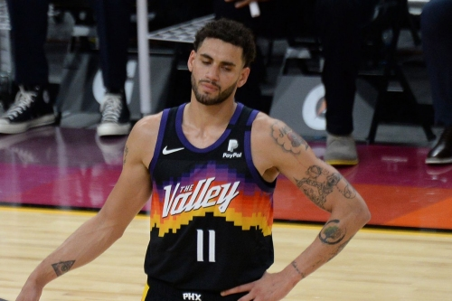 Bookless Suns nipped by Nuggets 120-112 in double OT