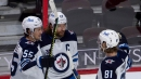 Fresh off Laine blockbuster, Jets dominate offensively to top Senators