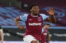 Oladapo Afolayan reacts to debut goal for West Ham United