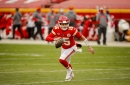 Chiefs' Patrick Mahomes reportedly dealing with 'turf toe,' per report