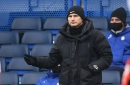 Chelsea manager Frank Lampard reacts to Kepa's howler against Luton
