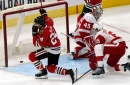 Detroit Red Wings picked apart at Chicago in worst performance of season