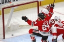 Suter or Later: Blackhawks 6, Red Wings 2