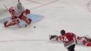 Blackhawks' Pius Suter scores first career NHL hat trick