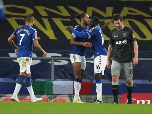 Result: Everton breeze past Sheffield Wednesday to advance in FA Cup