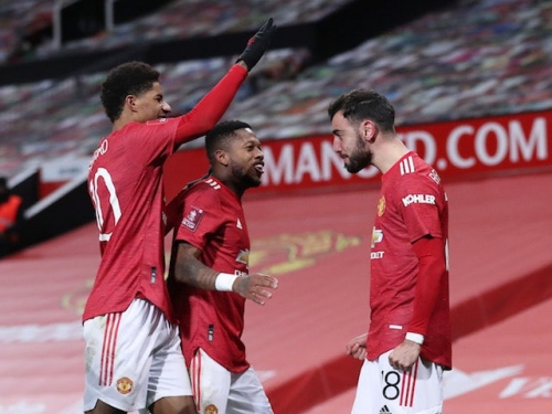 FA Cup roundup: Bruno Fernandes fires Manchester United past Liverpool