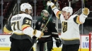 Golden Knights beat Coyotes on Karlsson's late goal