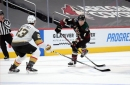 Coyotes D Jakob Chychrun, on his team playing well despite a heartbreaking loss to Vegas
