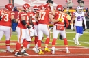 Watch Chiefs' Patrick Mahomes throw underhand TD pass to Travis Kelce against Bills