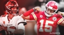 Patrick Mahomes' 4-word message after locking in Super Bowl date with Tom Brady