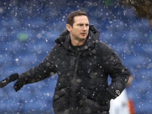 Frank Lampard vows to repay Chelsea fans after supportive banner