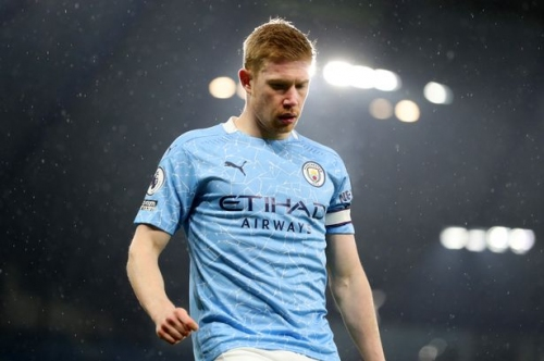 Manchester City's record with and without Kevin De Bruyne