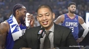The reason behind Paul George's 'benching' in 4th quarter, per Clippers coach Tyronn Lue
