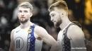 Pacers' Domantas Sabonis exits game vs. Raptors with knee injury