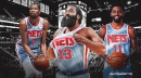 James Harden's honest feelings on decreased role with Nets alongside Kevin Durant, Kyrie Irving