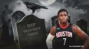 Rockets star Victor Oladipo bids goodbye to injured knee with funeral