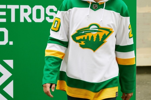 When the Wild are going to wear their 'Reverse Retro'