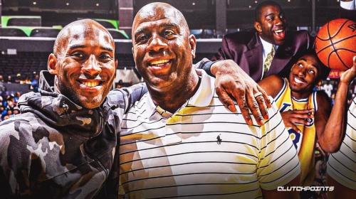 Magic Johnson's tribute to Lakers' Kobe Bryant on anniversary of his tragic death